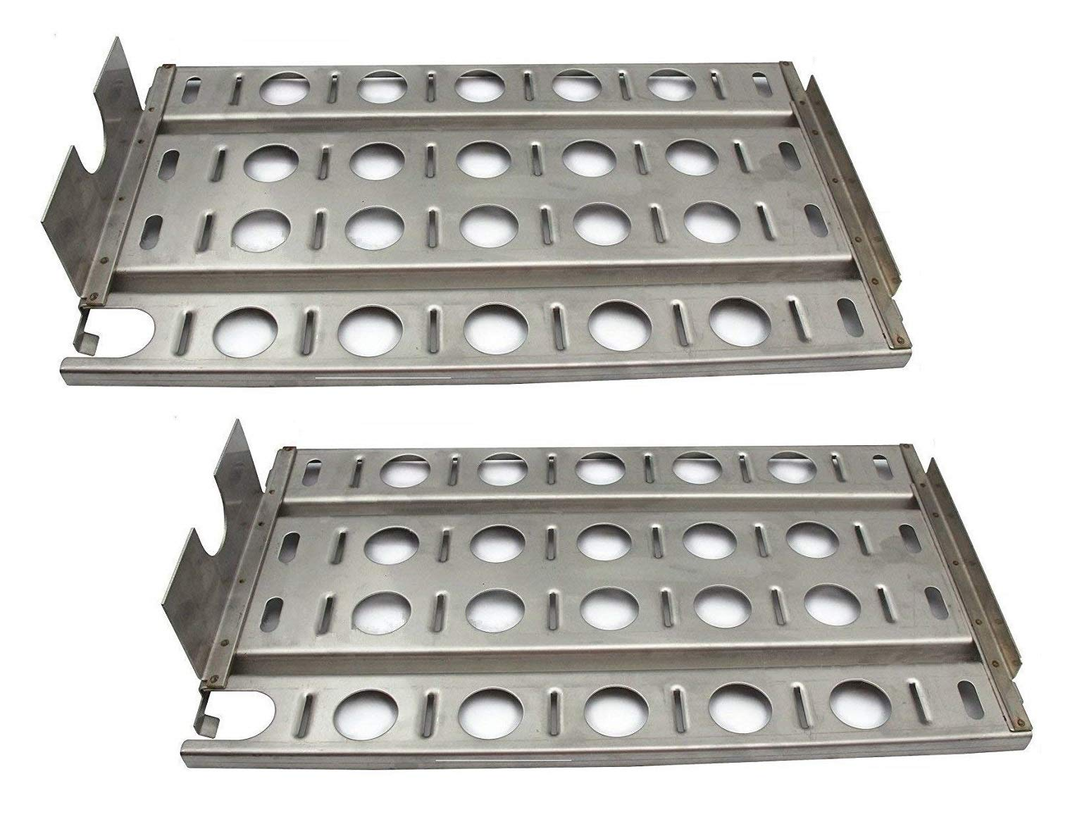 Hongso SPB571-2 Stainless Steel BBQ Gas Grill Heat Plate, Heat Shield for Lynx L27 Models (16 7/8'' x 9 1/2'')