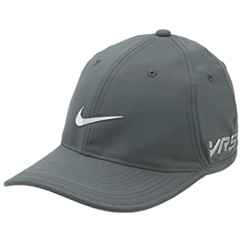 071e7a215ff Nike Ultralight Tour Legacy Mens Golf Cap  New VRS RZN Logo  Dark Grey
