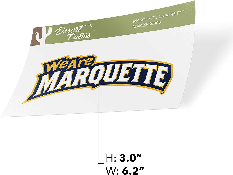 Sticker - 00008 Marquette University Golden Eagles NCAA Vinyl Decal Laptop Water Bottle Car Scrapbook