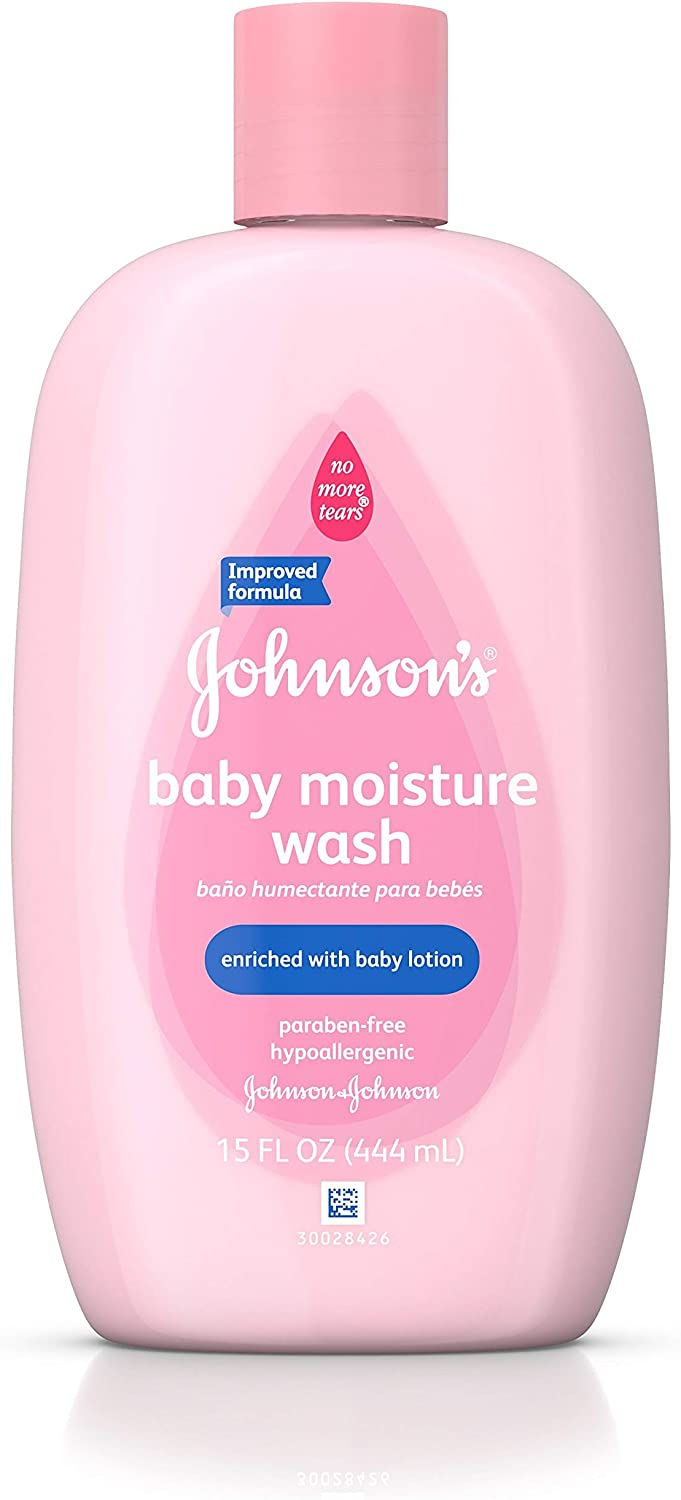 Johnson's Baby Moisture Care Wash With Lotion, 15 Oz.: Health & Personal Care