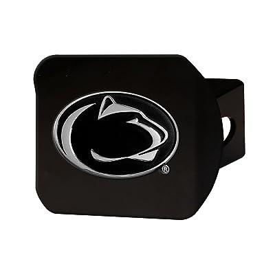 "FANMATS 21046 Penn State Black Hitch Cover, Team Color, 3.4""x4"": Automotive"