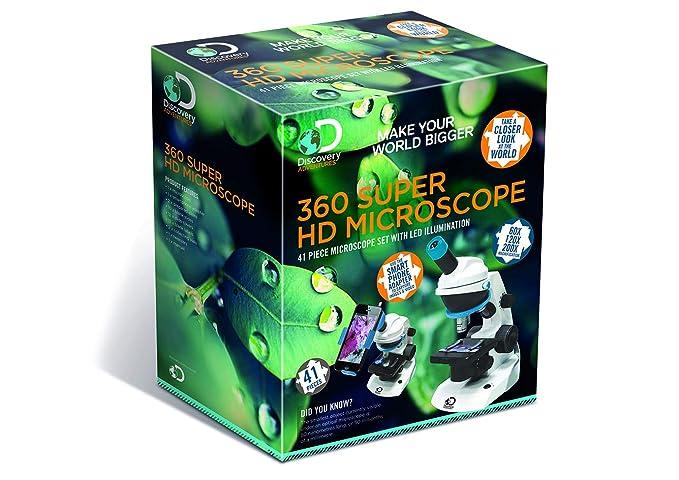 Discovery Adventures Microscopio DA11, Varios: Amazon.es ...