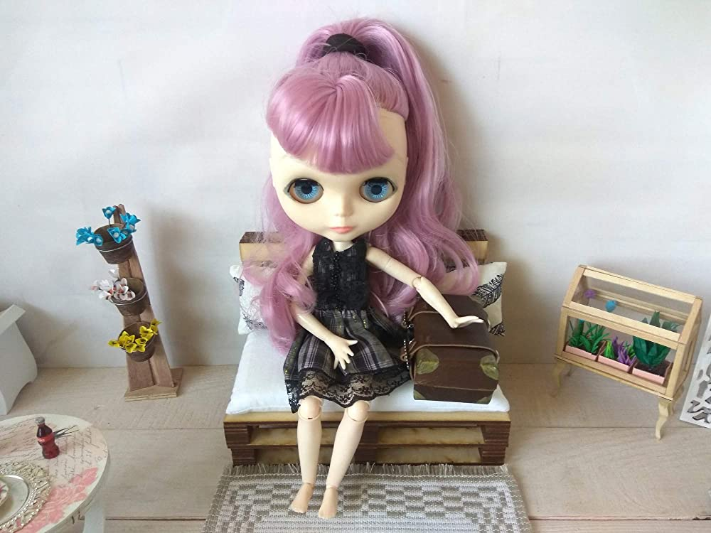 Pullipminiature complementcomplement dolls fashion Royalty Bag scale 1:6 for Barbie dolls Blythe