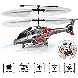 ヘリコプター 室内ヘリ 3.5HZ 大型赤外線 ラジコンヘリ ジャイロ LEDライト付き 初心者向け 子供用