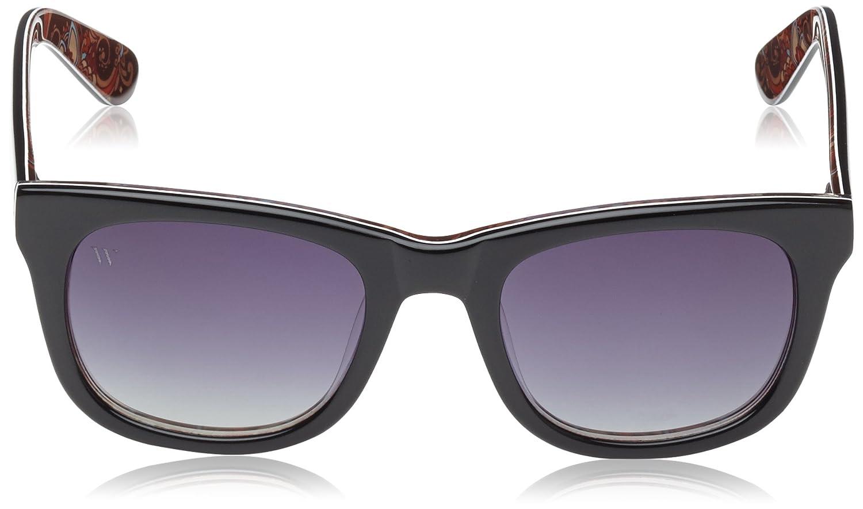 Wolfnoir, KIARA JK KASHMIR - Gafas De Sol unisex multicolor (negro/kashmir), talla única: Amazon.es: Ropa y accesorios