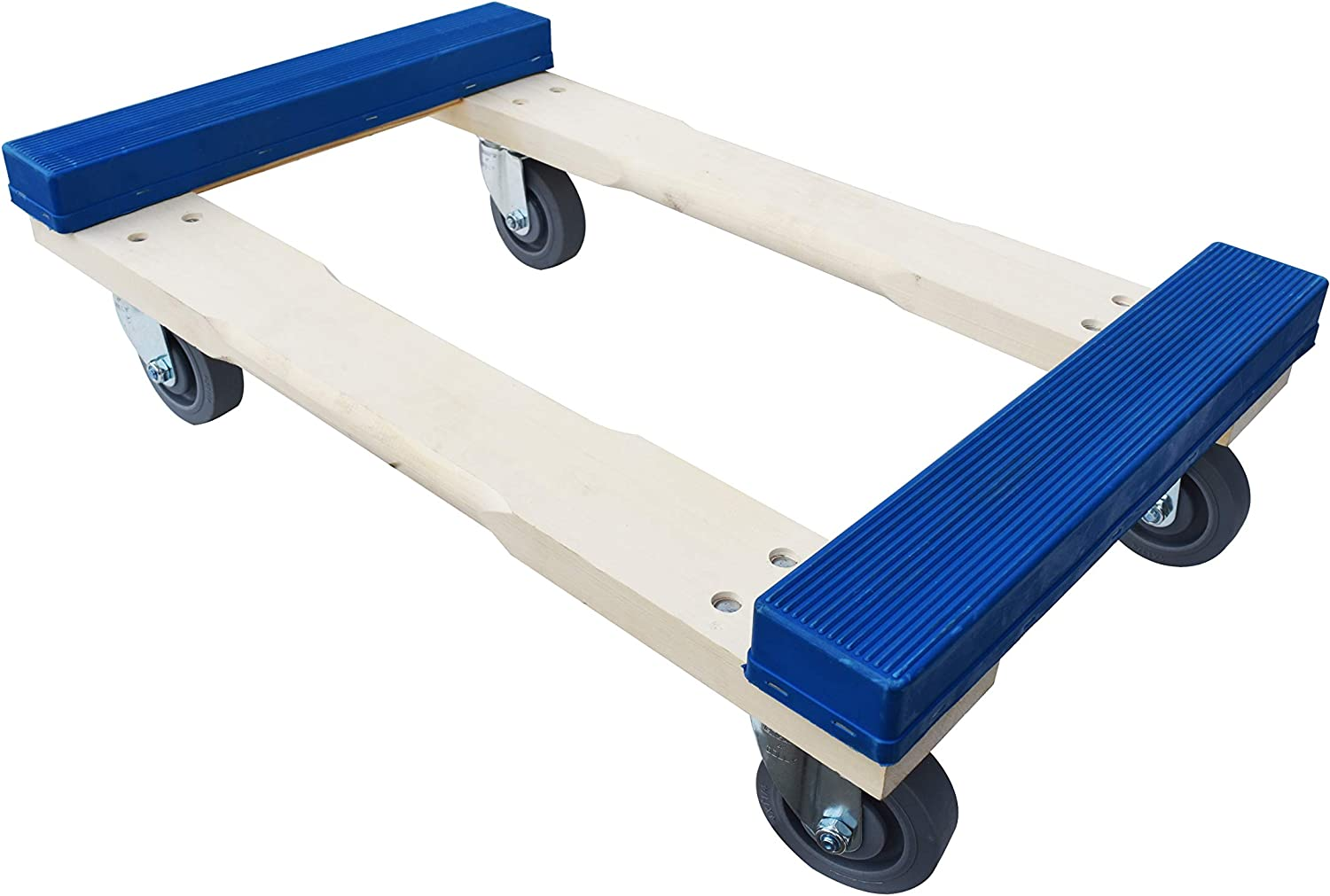 "Forearm Forklift RCTE-C40 Pro Grade Heavy Duty Moving Dolly with with Rubber Caps | 900 Pound Capacity | 18"" x 30"","