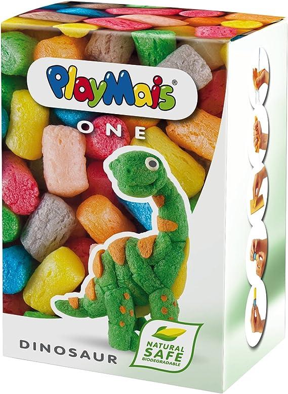 PlayMais Un Dinosaurio Playset: Amazon.es: Juguetes y juegos
