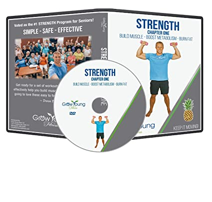 Amazon.com : Grow Young Fitness Chair Exercises for Seniors ...