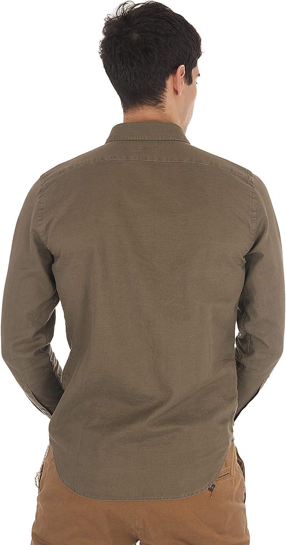 Closed C84885638 - Camisa para hombre, color verde militar verde militar XL: Amazon.es: Ropa y accesorios