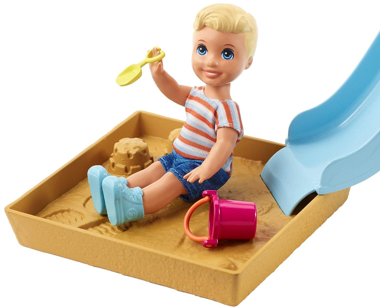 Barbie Skipper Babysitters Inc Playground Playset Mattel FXG96
