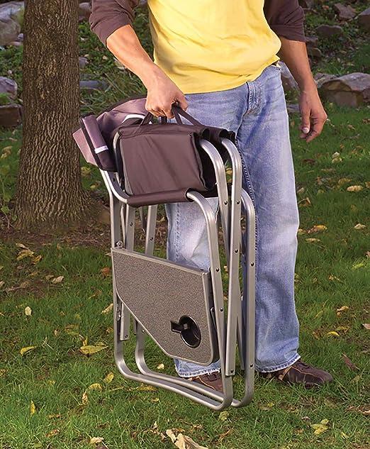 Coleman Portable Deck Chair with Side Table: Amazon.es: Deportes y aire libre