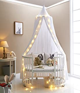 A LOVE BRAND 94.5×19.6 Inch Bed Canopy Cotton Mosquito Net for KidsWhite & Amazon.com: BIG SHARK Cotton Bed canopy COOL Kids Canopy Crib ...