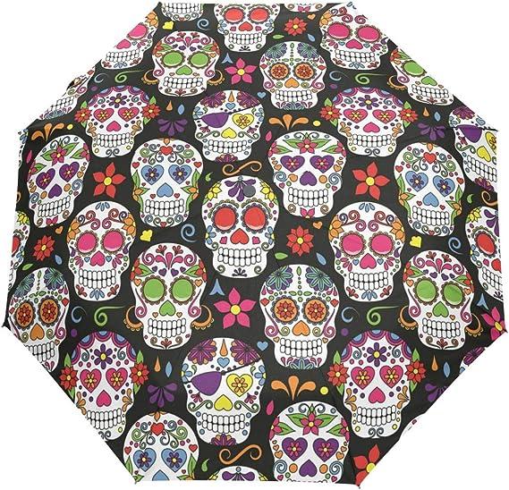 Acheter parapluie tete de mort online 11