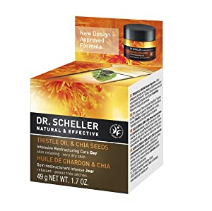Dr. Scheller Thistle Oil and Chia Seeds Intensive Restructuring Care Day, 1.7 Ounce