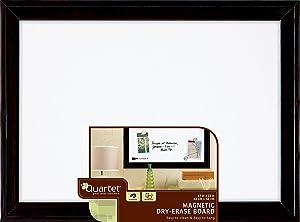 "Quartet Magnetic Dry Erase Board, 17"" x 23"" Whiteboard/White Board, Black Frame (79282)"