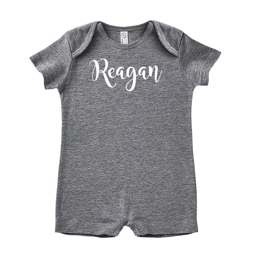 Mashed Clothing Reagan Personalized Name Baby Romper
