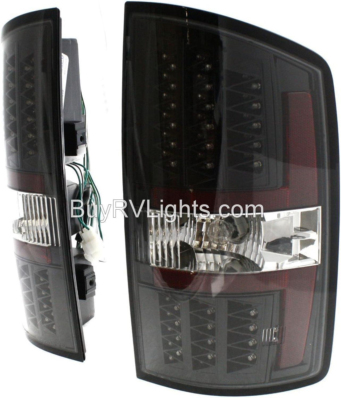 Black LED Rear Taillights Tail Lamps Lights Left /& Right Winnebago Tour 2006-2010 RV Motorhome Pair