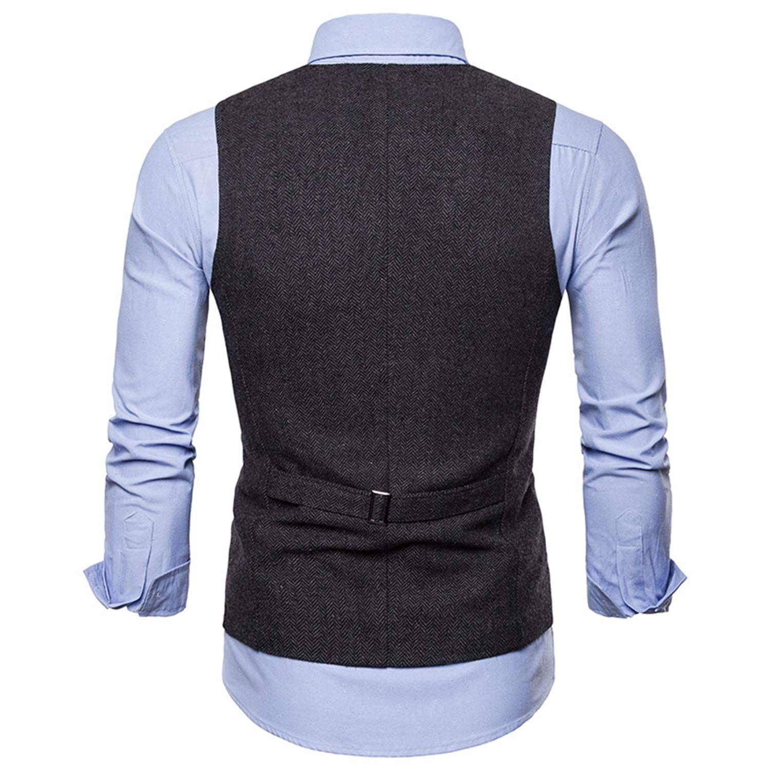 Carolyn Jones Mens Single Breasted Suit Vest Male Formal ...
