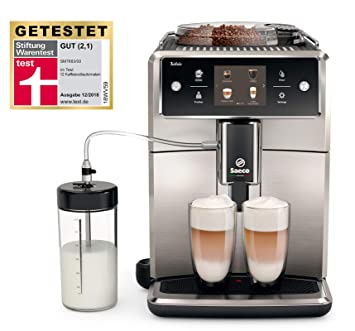 6a8e5d493a64 Amazon.de  Saeco Xelsis SM7683 00 Kaffeevollautomat (1.7L ...