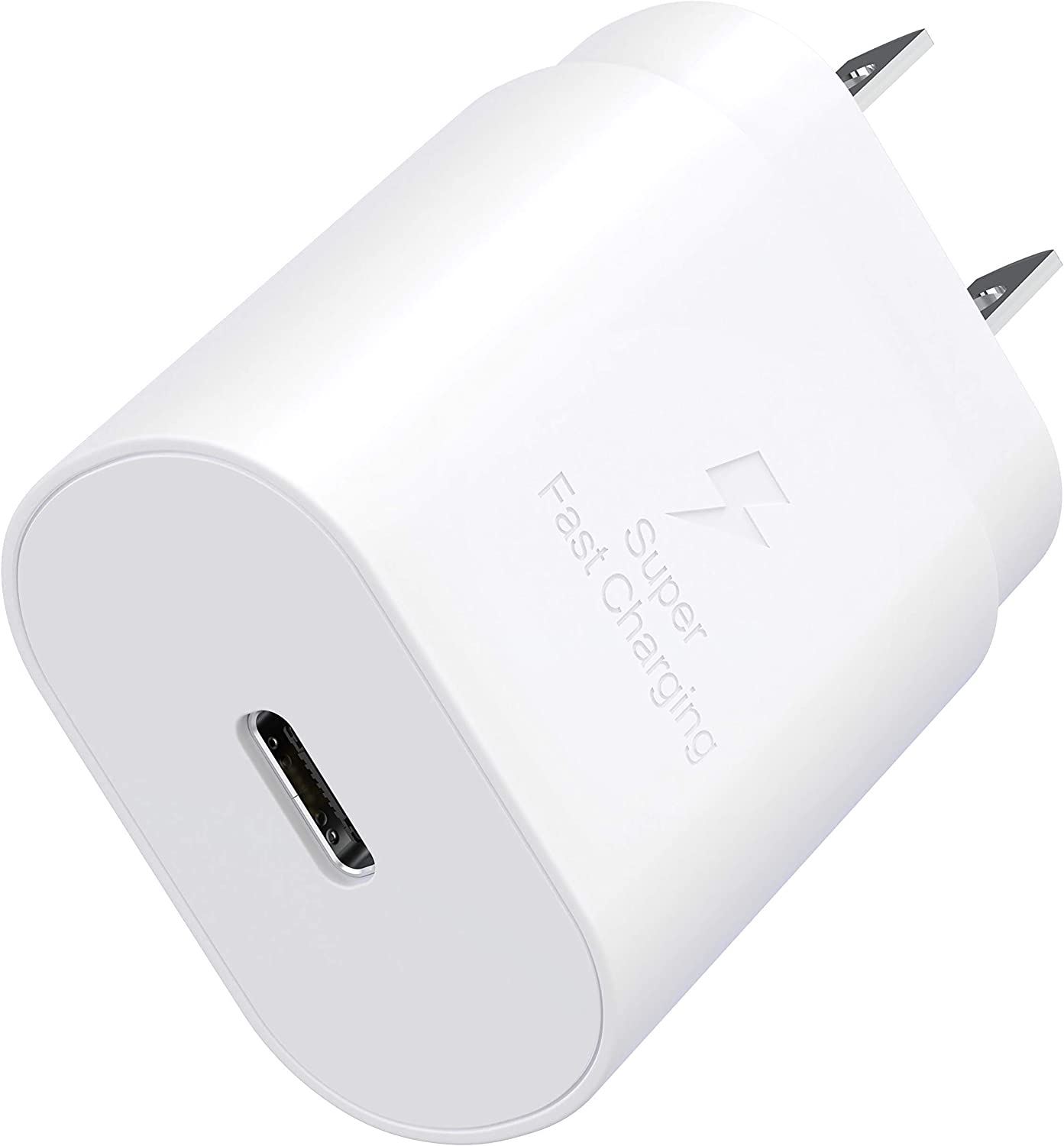 TT&C USB C 25W PD Fast Charger Type C Charger Wall Plug Adapter Block Compatible with iPhone 12/iPhone 12 Pro/12 Pro Max/iPhone 12 Mini/iPhone 11/iPad Pro/Samsung Galaxy S21 Plus/S20/S20 Ultra/Note20