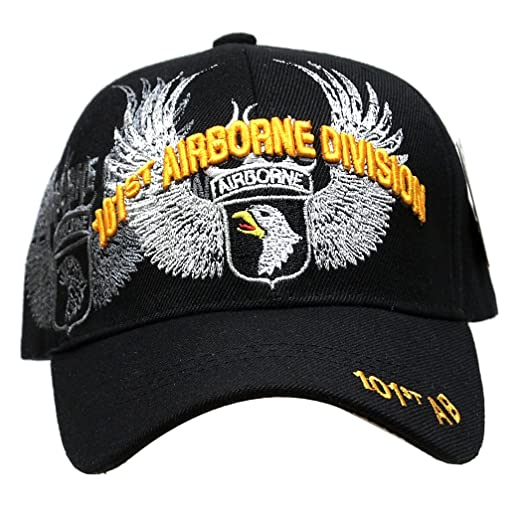 05055dfaeb2 Embroidered U.S. Army Veteran Marine Navy Air Force Military U.S. Warriors Baseball  Cap Hat (AIRBORNE