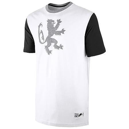 85d5574e Nike Lebron Lion T-Shirt - White: Amazon.co.uk: Kitchen & Home