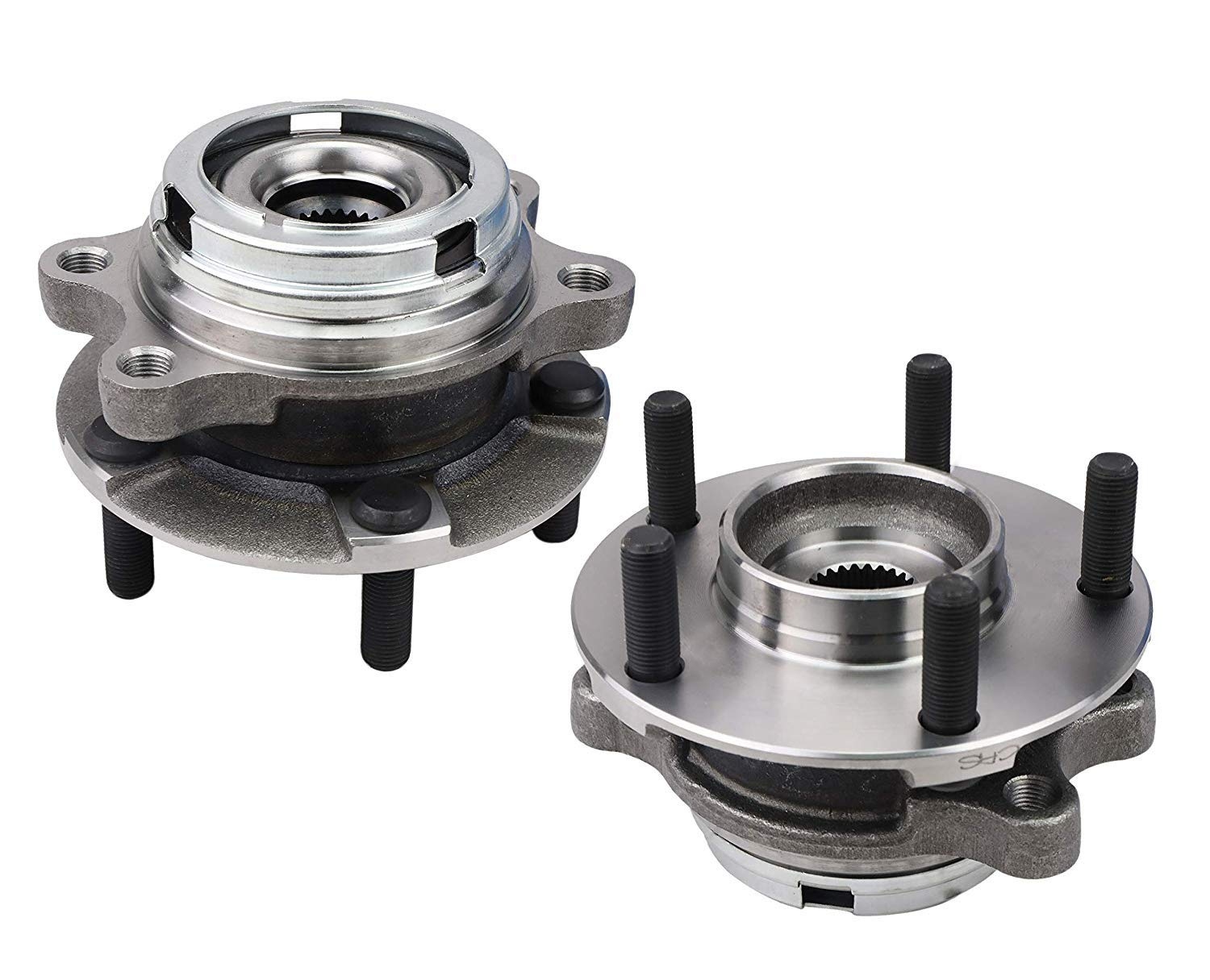 AWD PAIR Front Wheel Hub Bearing Assembly for 2003-2008 INFINITI FX45