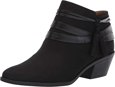 LifeStride Womens Western Ankle Bootie