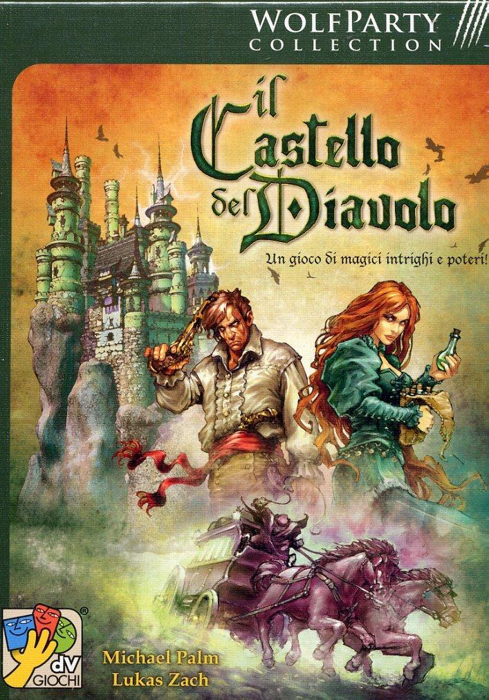 Da Vinci Games Il Castello del Diavolo - Juego de Mesa (versión en Italiano): Amazon.es: Juguetes y juegos