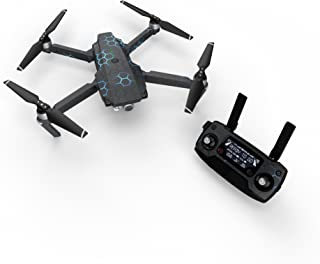 product image for EXO Neptune Decal for Drone DJI Mavic Pro Kit - Includes Drone Skin, Controller Skin and 3 Battery Skins