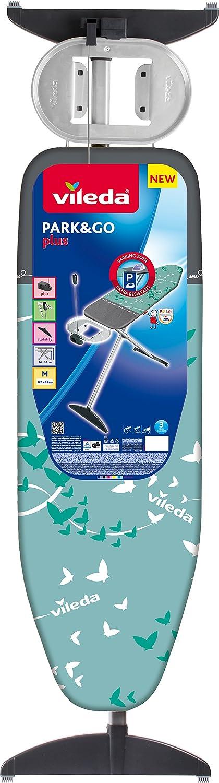 Vileda Reflect Plus Ironing Board Metal 172.5/x 45,6/cm grey