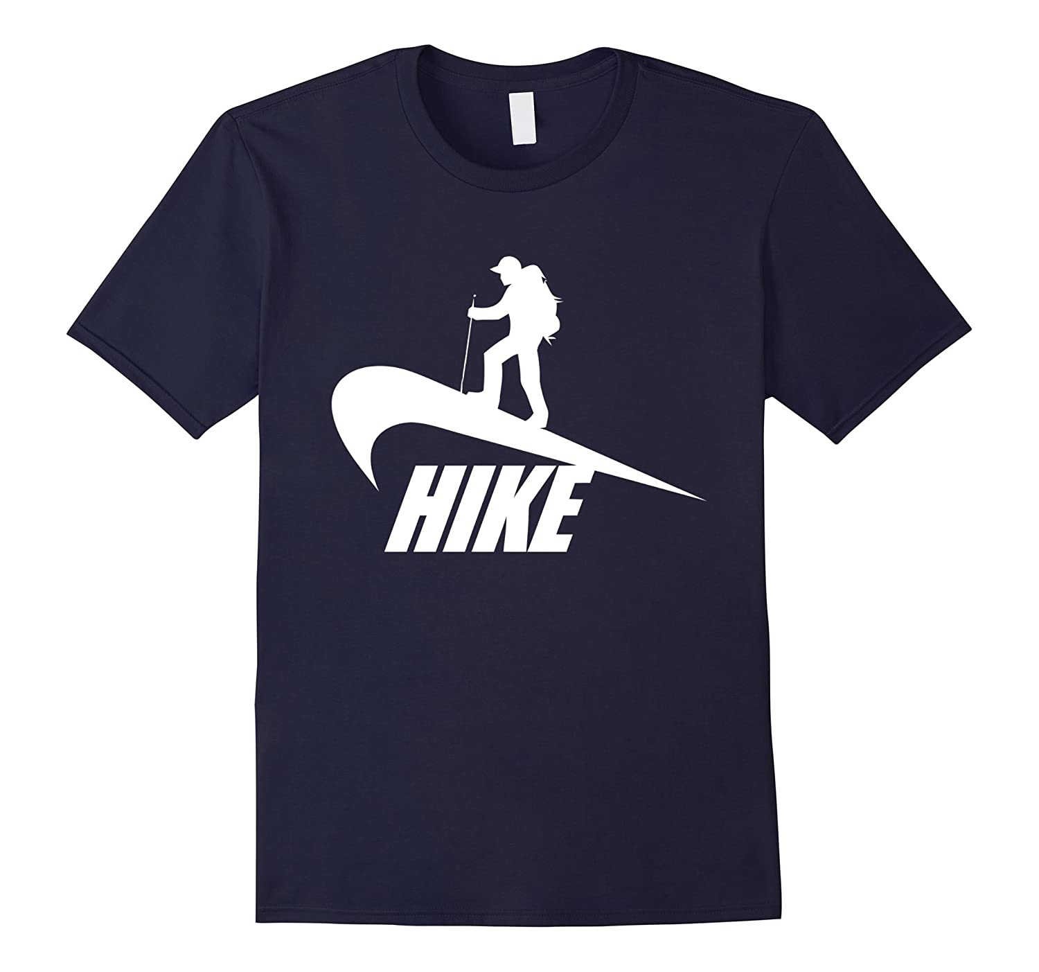 Hike Funny Hiking Unisex T-Shirt-Art