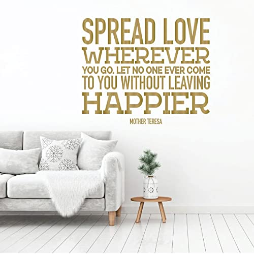 Amazon Com Mother Teresa Wall Art Spread Love Happier Christian