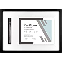 MCS, Black Graduation Diploma and Tassel Frame, 18.25x13 Inch Overall Size