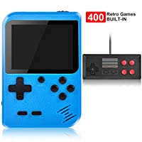 Handheld Game Console, Kiztoys Retro Video Games Console for kids with 400 Classic...