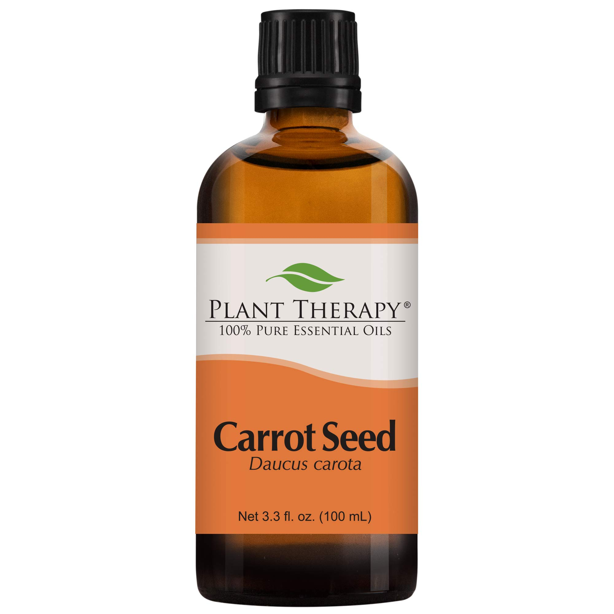 Plant Therapy Carrot Seed Essential Oil 100% Pure, Undiluted, Natural Aromatherapy, Therapeutic Grade 100 mL (3.3 oz)
