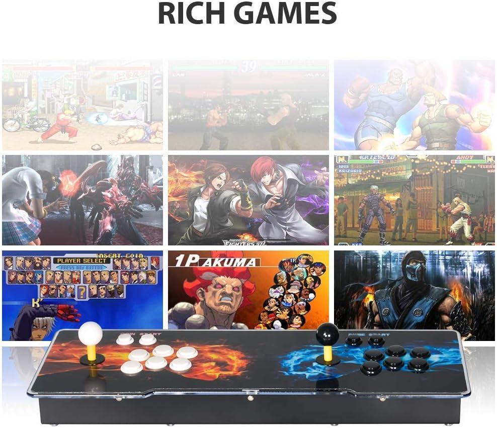 TAPDRA Raspberry Pi 3 Model B+ (B Plus) Arcade Cabinet Machine Video Game Console Complete Full Kit RetroPie Emulation Station ES with 18000+ Games(128GB EVO+) 2 GPIO Joystick: Amazon.es: Juguetes y juegos