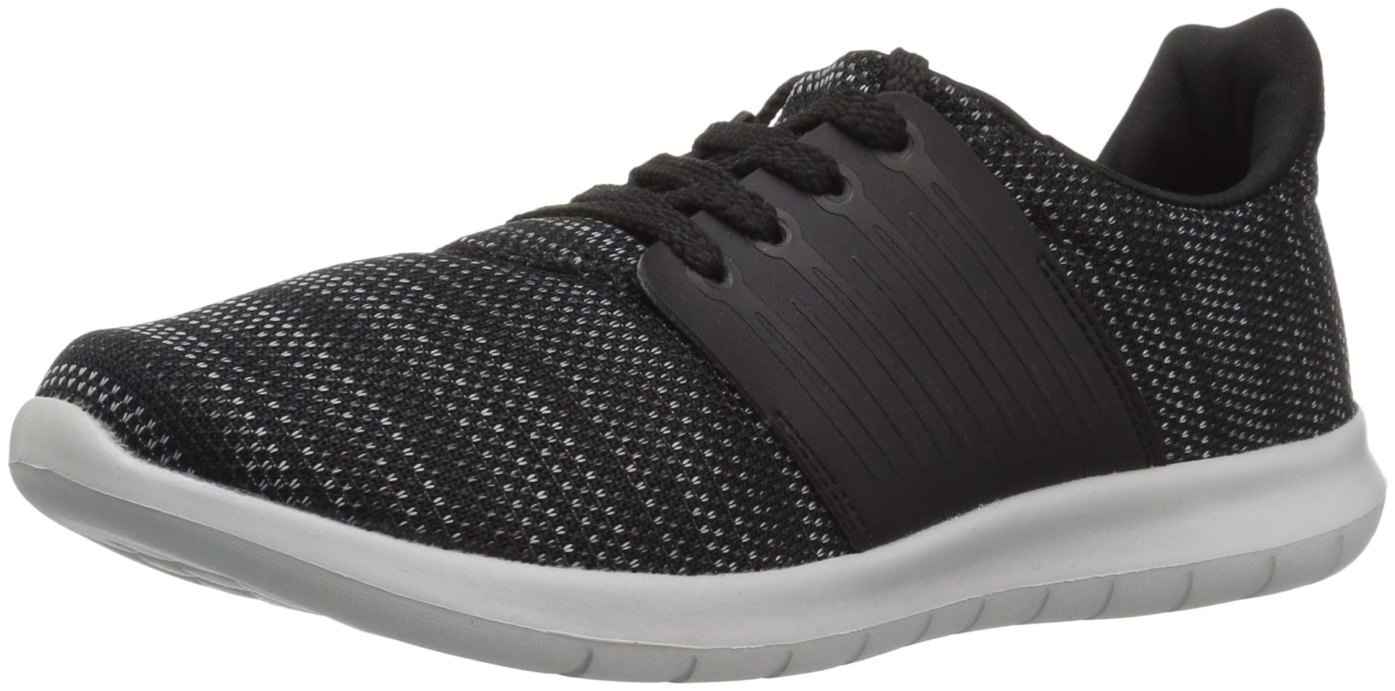 The Children's Place Boys' Athletic Sneaker, Black, Youth 4 Child US Little Kid