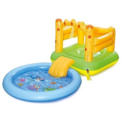 Amazon.com: Verano olas arena inflable castillo Play Center ...