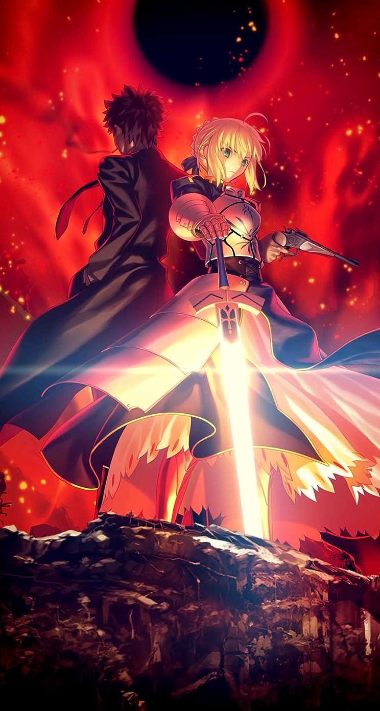 Fate 衛宮切嗣,セイバー『Fate/Zero』 iPhoneSE/5s/5c/5 壁紙 視差効果画像