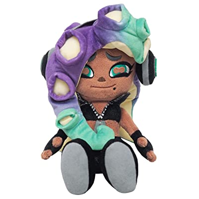 Sanei Boeki Splatoon 2 Stuffed Doll Plush Toy (S) Off The Hook Marina Iida 9.44 inches: Toys & Games