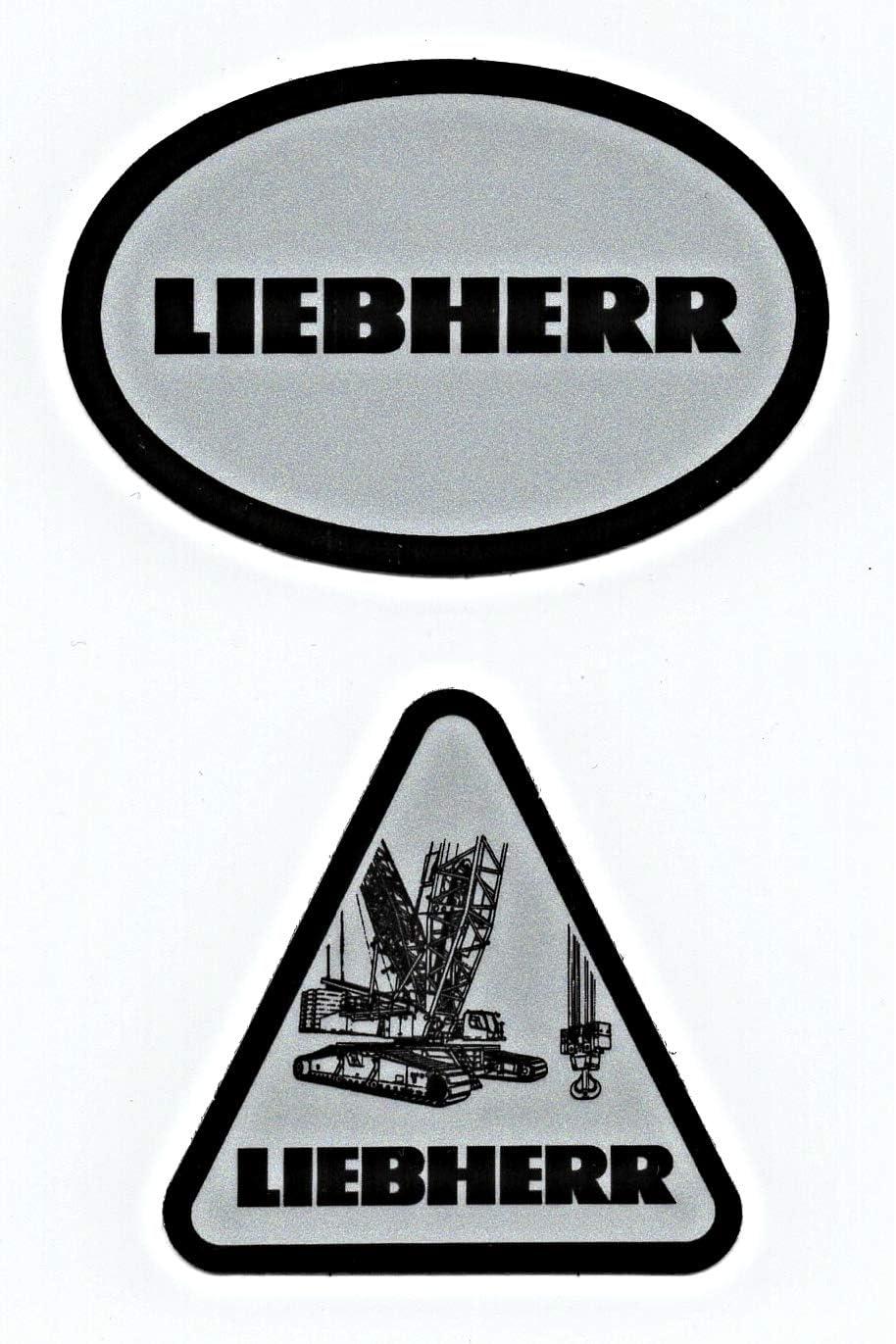 Rare Liebherr lanyard and Sticker set Oilfield Union Construction Crane 3