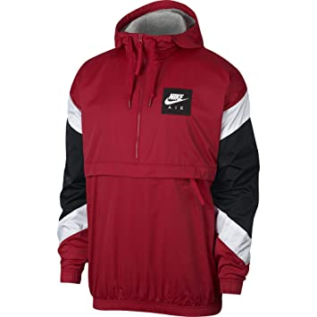 Nike M NSW Air Jkt HD Wvn Chaqueta, Hombre, Rojo/Blanco (Gym Red), XL: Amazon.es: Deportes y aire libre