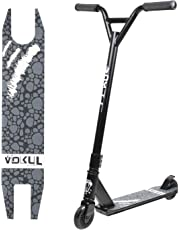 """Vokul TRII S2 Entry Freestyle Pro Stunt Scooter for Age 8+; Decent Entry Level Pro Scooter - 19.5"""" W*23.8"""" H Handlebar - 6061 Aluminum 20"""" L*3.9"""" W Deck; Stable Performance"""