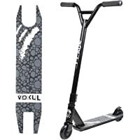 "Vokul TRII S2 Entry Freestyle Pro Stunt Scooter for Age 8+; Decent Entry Level Pro Scooter - 19.5"" W*23.8"" H Handlebar - 6061 Aluminum 20"" L*3.9"" W Deck; Stable Performance"