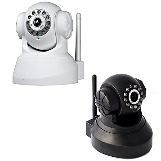 151 opinioni per Camera IP TELECAMERA Cam Wireless WIFI INFRAROSSI MOTORIZZATA IPCAM 10 LED Lan