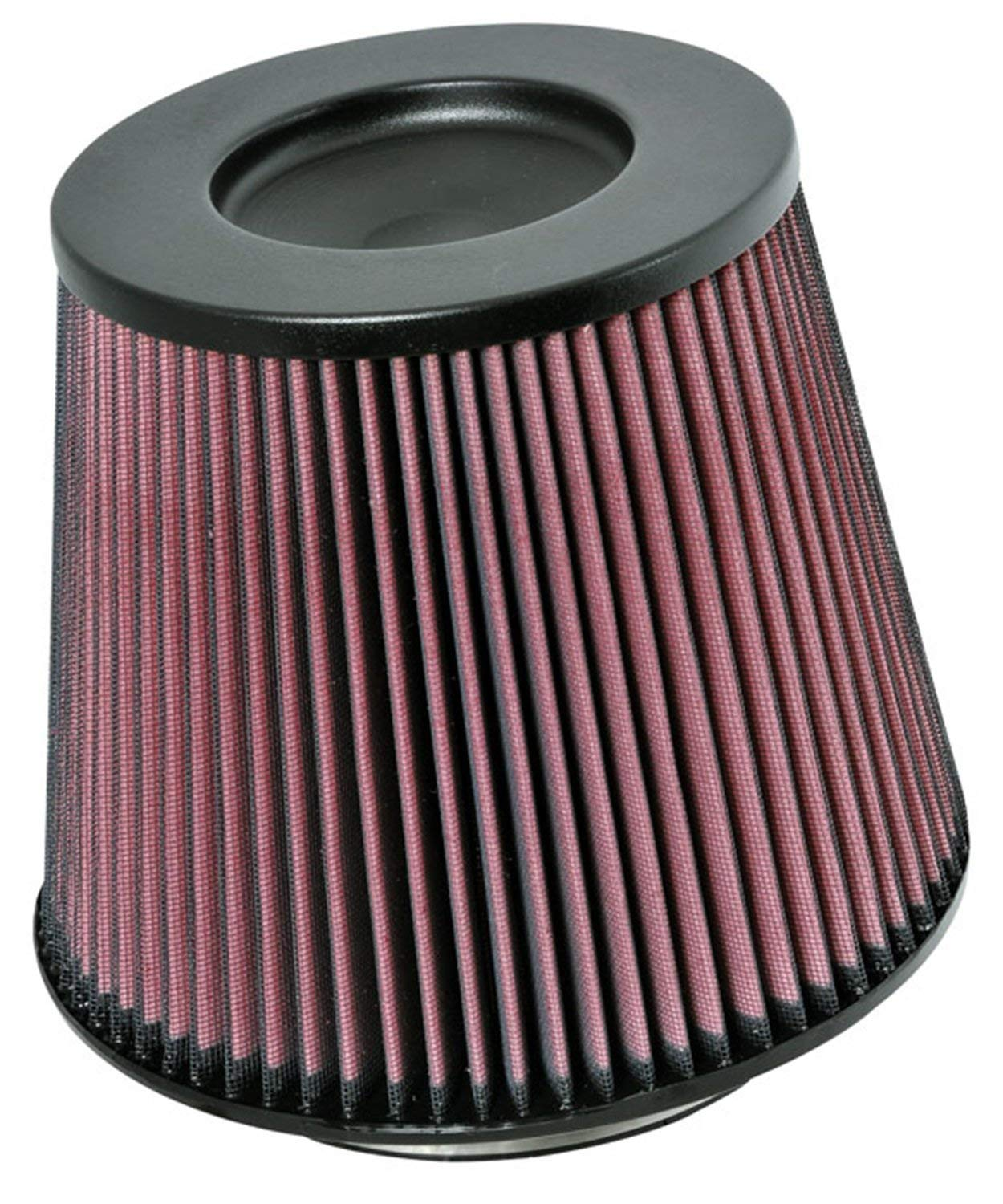 K&N RC-5179 Universal Clamp-On Air Filter: Round Tapered; 6 in (152 mm) Flange ID; 7.5 in (191 mm) Height; 9 in (229 mm) Base; 6.625 in (168 mm) Top