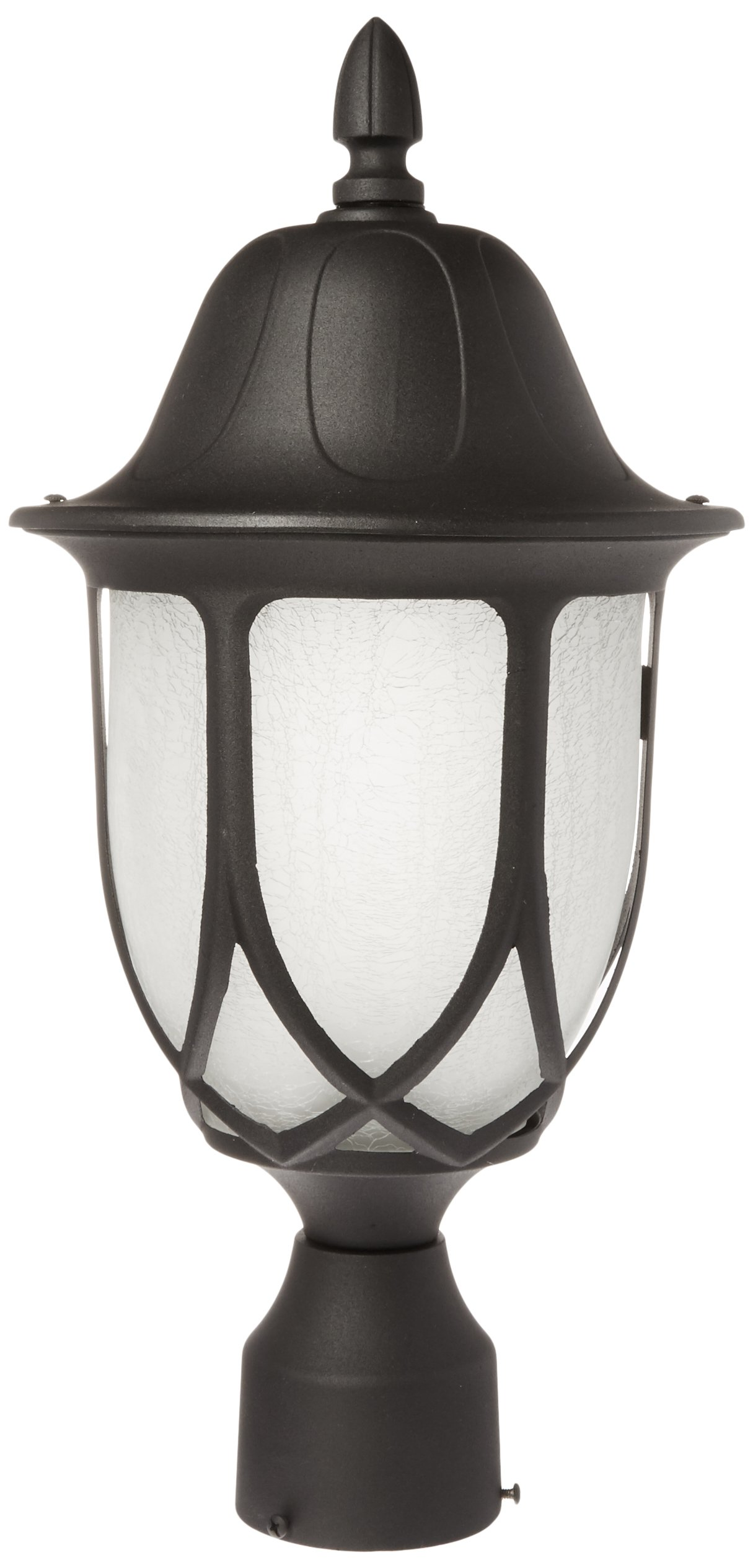 Designers Fountain 2866-BK Capella Post Lanterns, Black