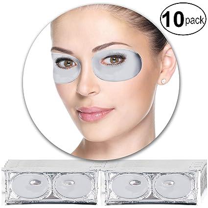 VAGA 10 pares parches de colageno blanco antiarrugas para ...