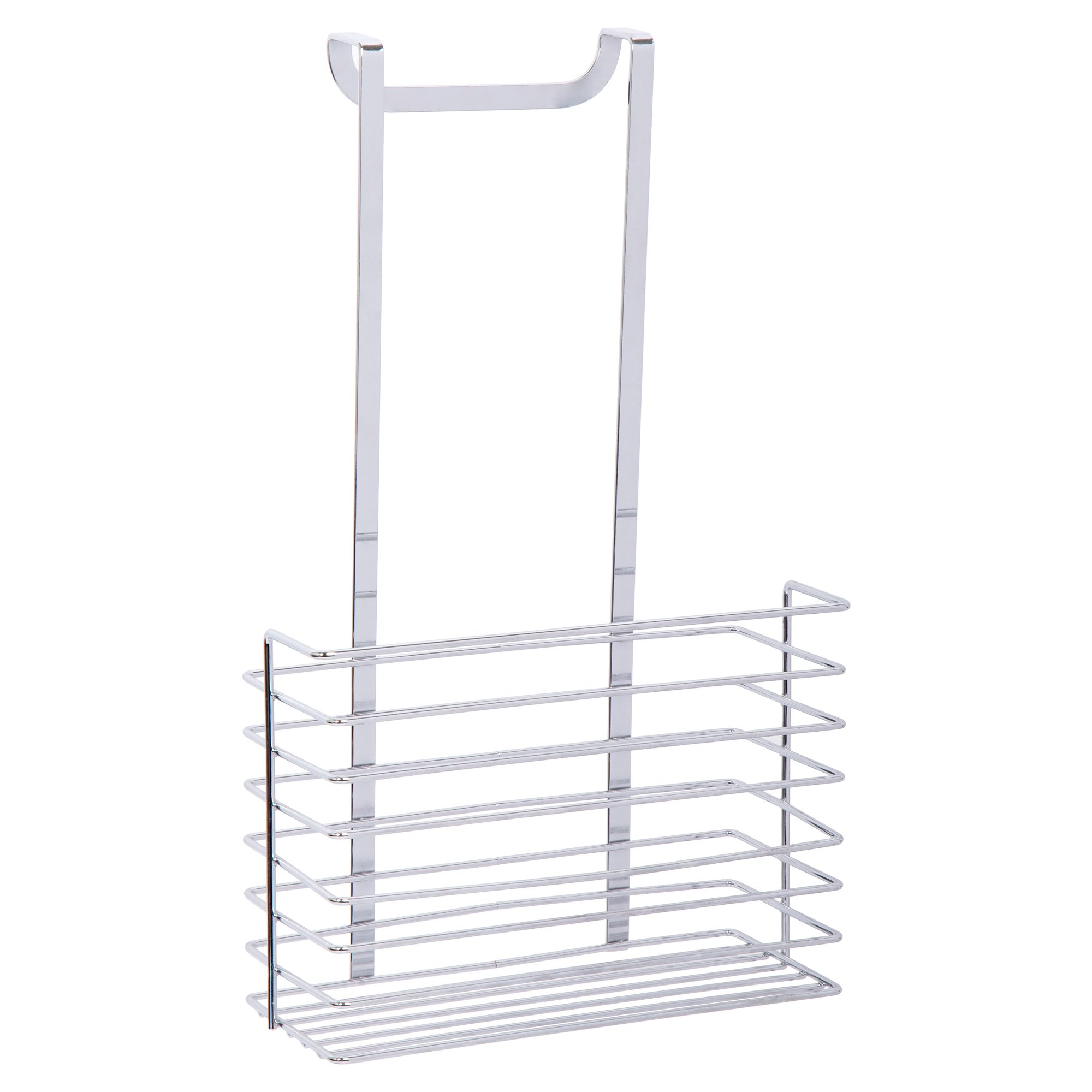 Action 1 Over the Cabinet Deep Basket, 14 inches, silver